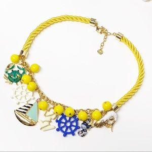 Talbots Driftaway Nautical Charm Necklace
